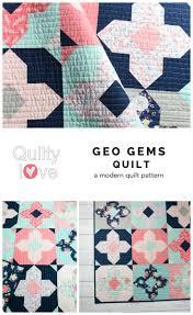 Geo Gems PDF Quilt Pattern - Digital Download | Fat quarters, Geo ... & Geo Gems PDF Quilt Pattern - Digital Download | Fat quarters, Geo and Gems Adamdwight.com