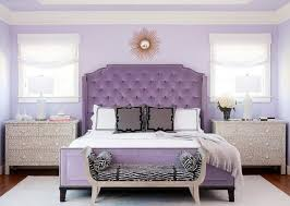 Gorgeous purple bedroom