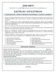 Electrician Job Description Journeyman Electrician Job Responsibilities Maintenance Project For