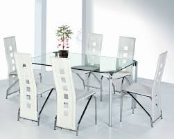 Inspiring Contemporary Glass Dining Tables And Chairs 12 For Your Dining  Room Chairs With Contemporary Glass