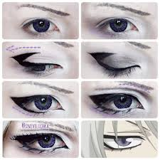 tomoe makeup tutorial lenses from uniqso requested by tomoes shrine i am