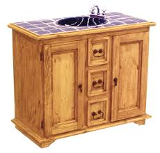 Pine Bathroom Cabinet Luxury Idea Mexican Bathroom Vanity Pine Rustic Tile Cabinets