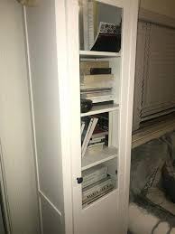 hemnes glass door cabinet glass door cabinet w panel door for in ca hemnes glass