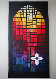 stained glass quilt patterns from churches | Stained Glass Cross ... & Stained glass quilt.....@Julia F. I thought of you Adamdwight.com