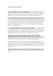 What To Include In A Resume Cover Letter Medical Resume Cover Letter Samples Dadajius 56