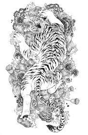 White Tiger Tattoo Sketch Tattoomagz Tattoo Designs Ink