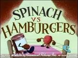 Seymour Kneitel Spinach vs Hamburgers Movie