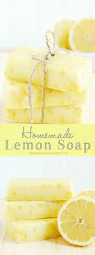 Homemade Lemon Soap {Mother\u0027s Day Gift Ideas} - A Pumpkin And A ...