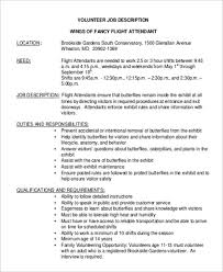 ... Inspiring Flight Attendant Duties And Responsibilities Sample Job  Description 6 Examples In Word PDF ...