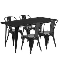 Kitchen Table Sets Under 300 Flash Furniture 5 Piece Dining Set Reviews Wayfair