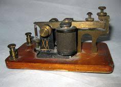 vintage mfj b economy electronic keyer morse code ham radio vintage mfsco telegraph sounder 5 ohms works