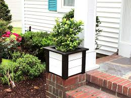 weathered planter a fresh facelift