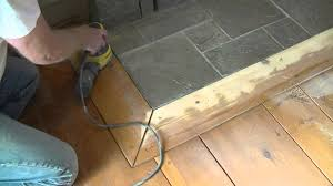 how to orbital sand a pre finished wood floor