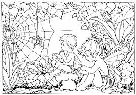 Adult Coloring Page Print And Colour Fairy Colouring Page Free