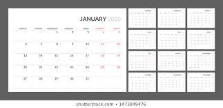 Calendar 2020 Photos 94 837 Calendar Stock Image Results