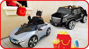 Sport Series bmw power wheel : BATMAN McDonalds Happy Meal Drive Thru Ride on Power Wheels BMW i8 ...