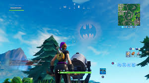 Light Up Bat Signal Fortnite Fortnite Welcome To Gotham City Challenges Bat Signal