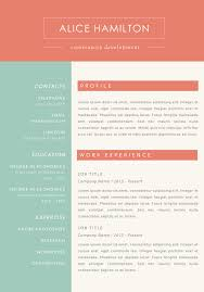 Resume With Accent Resume templates for mac experimental see 100 colorful cv the number 59