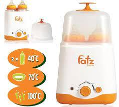 Máy hâm sữa đa năng hai bình Fatzbaby FB3012SL – thienduongtretho.com