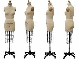 mannequin body form female dress form