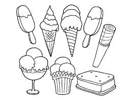 ice cream coloring images cute ice cream cone drawing at free for personal cute ice cream ice cream colouring