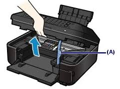 Reseat the Print Head to resolve the ... - Canon Knowledge Base