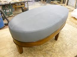 custom made  custom upholstered ottomans and benches from