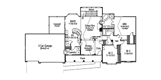 traditional house plan first floor 007d 0010 house planore