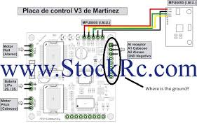 martinez board open source brushless gimbal help th page but where do i plug the ground wire on the martinez board