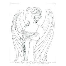 Free Angel Coloring Pages For Adults Angel Coloring Pages Angel