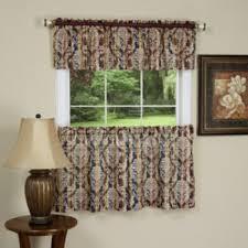 Damask Kitchen Curtains