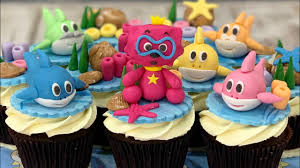 Baby Shark Cake Design Baby Shark Cupcakes Youtube