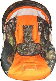 camouflage baby car seat mossy oak and orange infant car seat cover most model via