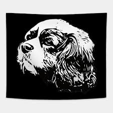 cavalier king charles spaniel cavalier king charles gifts tapestry