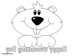 Small Picture Groundhog Coloring Page Coloring Pages Kids