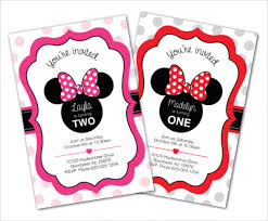 Free Minnie Mouse Birthday Invitations Free Minnie Mouse Invitation Template Magdalene Project Org