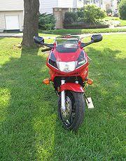 honda cbr600f cyclechaos 1996 honda cbr600f3 in red
