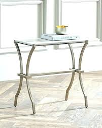 half round accent table circle awesome small