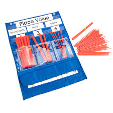 Buy Counting And Place Value Pocket Chart Tts International