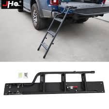 JHO Truck Tailgate Step Ladder For 2015 2018 Ford F150 Raptor 2016 ...
