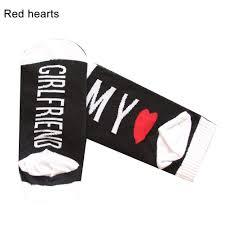 Jchc My Chart Preliked Lovely Couple Socks Boyfriend Girlfriend Heart