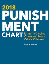 2018 Punishment Chart For North Carolina Crimes And Motor