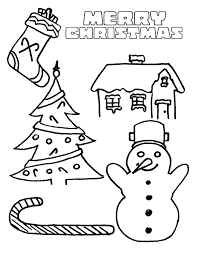 Merry Christmas Coloring Sheets Printable Coloring Pages