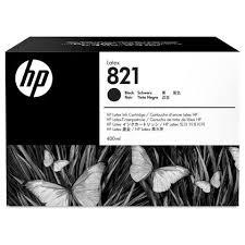 <b>HP 821</b> G0Y89A Original <b>Black Latex</b> Ink Cartridge 400ml
