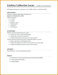 First Time Resume Template Best of Student Resume Template High School Internship Resume Samples