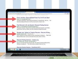 How To Post Your Resume Online: 13 Steps (With Pictures) - Wikihow with