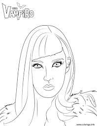 Coloriage Catalina Ennemie De Daisy Chica Vampiro Dessin