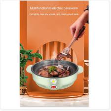 Bếp nướng điện FREESHIP Bếp nướng điện không khói Hàn Quốc hình tròn mini, vỉ  nướng chống dính 9778 - Lò vi sóng Nhãn hàng Rhinobrand