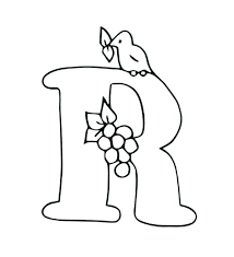 Letter M Coloring Pages Free Capital Letter Coloring Pages Free