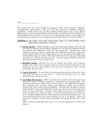 Sick Leave Sample Letter To Hr Netdevilz Co